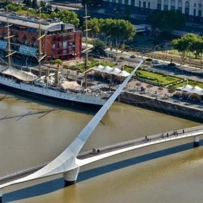 Puente de la Mujer, Argentina-2