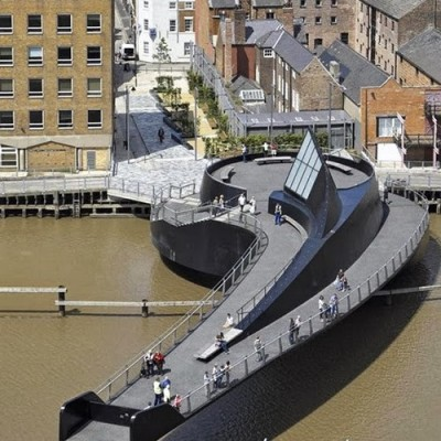 River Hull Footbridge, UK-1