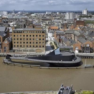 River Hull Footbridge, UK-2