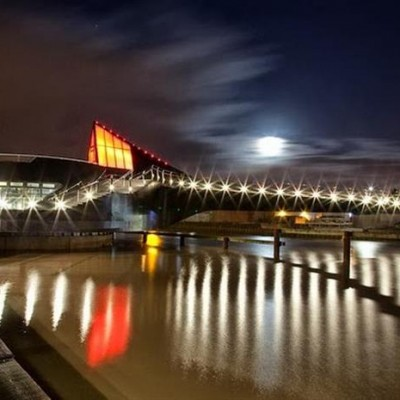 River Hull Footbridge, UK-4