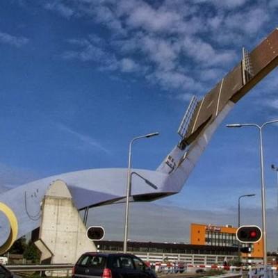 Slauerhoffbrug, Netherlands-3