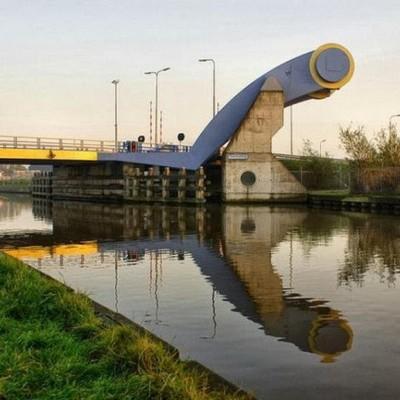 Slauerhoffbrug, Netherlands-4