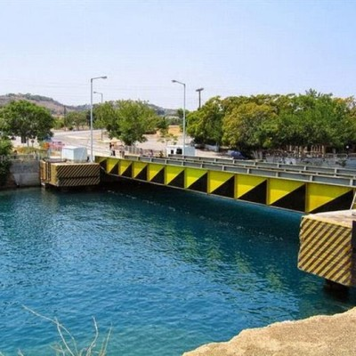Submersible Bridges, Corinth Canal, Greece-1