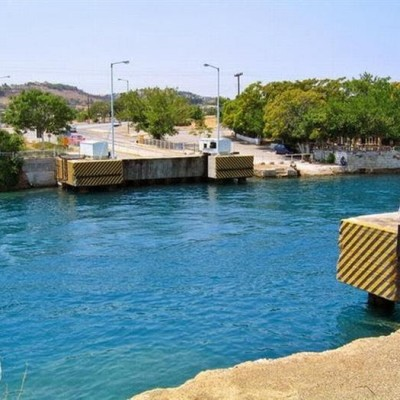 Submersible Bridges, Corinth Canal, Greece-2