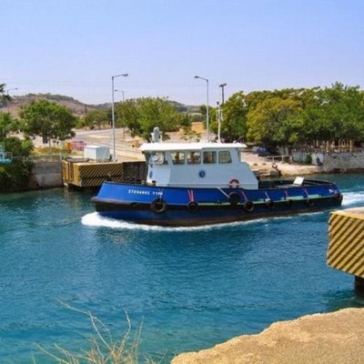 Submersible Bridges, Corinth Canal, Greece-3