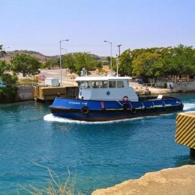 Submersible Bridges, Corinth Canal, Greece-3